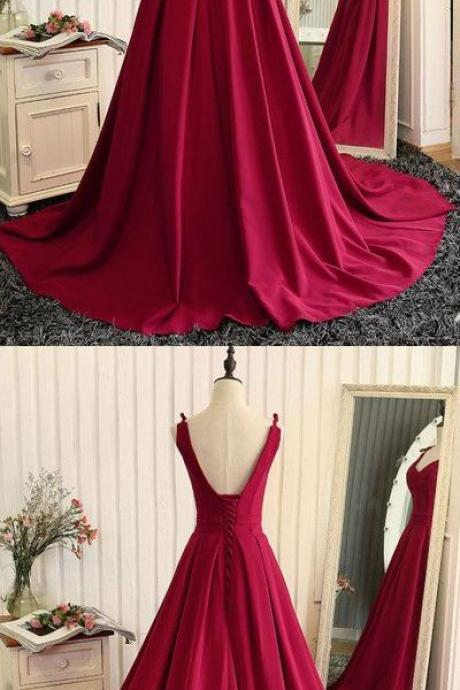 Newest V-Neck A-Line Prom Dresses,Long Prom Dresses,Cheap Prom Dresses, Evening Dress Prom Gowns, Formal Women Dress,Prom Dress