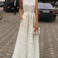 Ivory Charming Long Cheap Evening Dress Custom Made Formal Women Dress,Prom Dresses